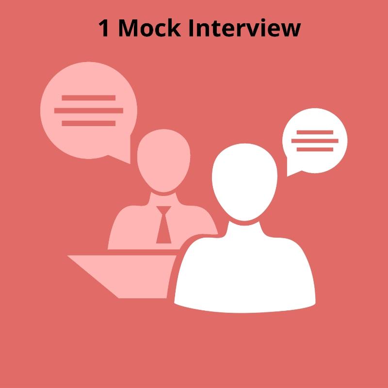 Cracking Med School Admissions - 1 Mock Interview