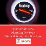Premed Timeline - Planning Your Medical School Application